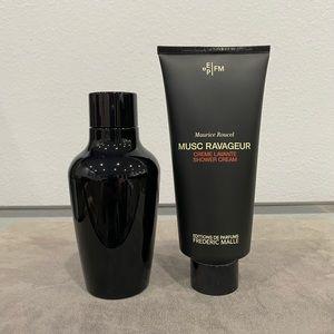 Frederic Malle Musc Ravageur Shower Cream/Body Oil